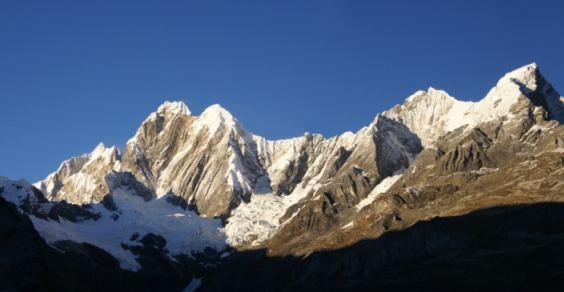 Fermiano l'estinzione dei ghiacciai tropicali delle Ande