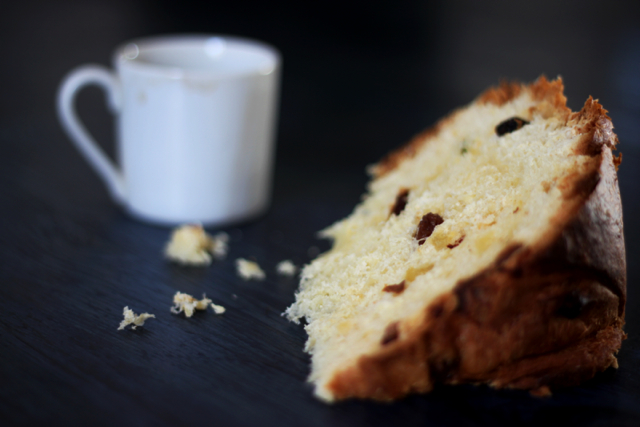 panettone? vegan e fatto in casa!