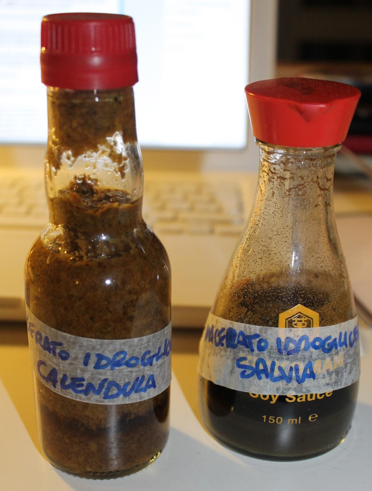 macerato idroglicerico fatto in casa
